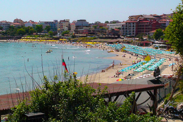 Old Sozopol Town beach